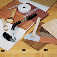 how to apply veneer to wood